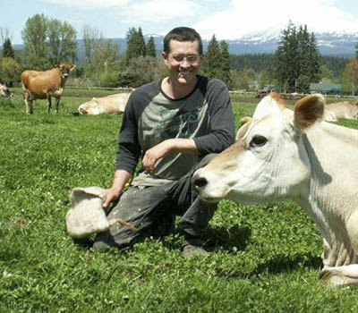 Cascadia Creamery cheesemaker John Shuman