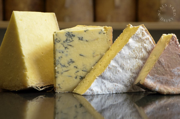 Softening prices: Cheeses from Neal's Yard Dairy