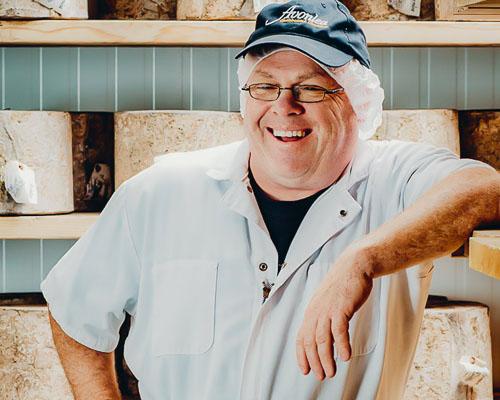 Avonlea cheesemaker: Armand Bernard
