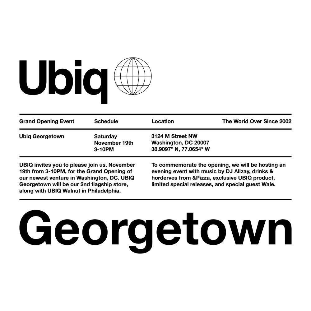 UBIQ Store Grand Opening in Georgetown Washington 0b4bf54d1