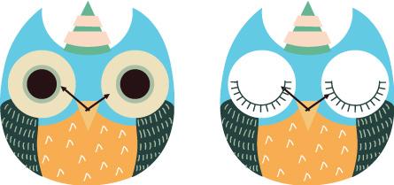 wooden owl clock 01