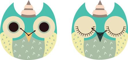 wooden owl clock 02