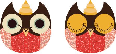wooden owl clock 03