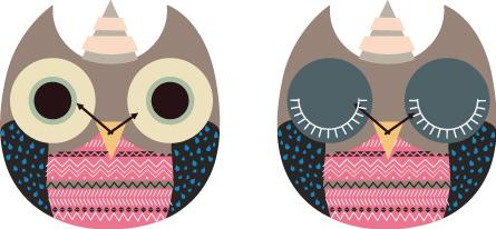 wooden owl clock 06