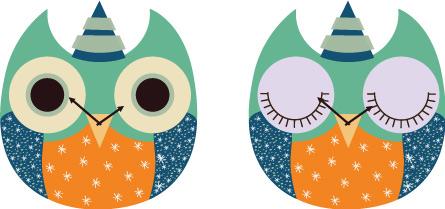 wooden owl clock 08