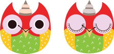 wooden owl clock 09
