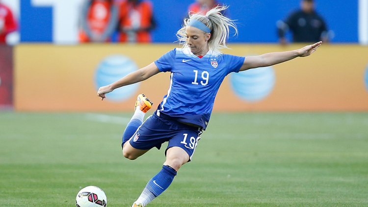 USWNT player Julie Johnston. Photo by Joe Scarnici/Getty Images