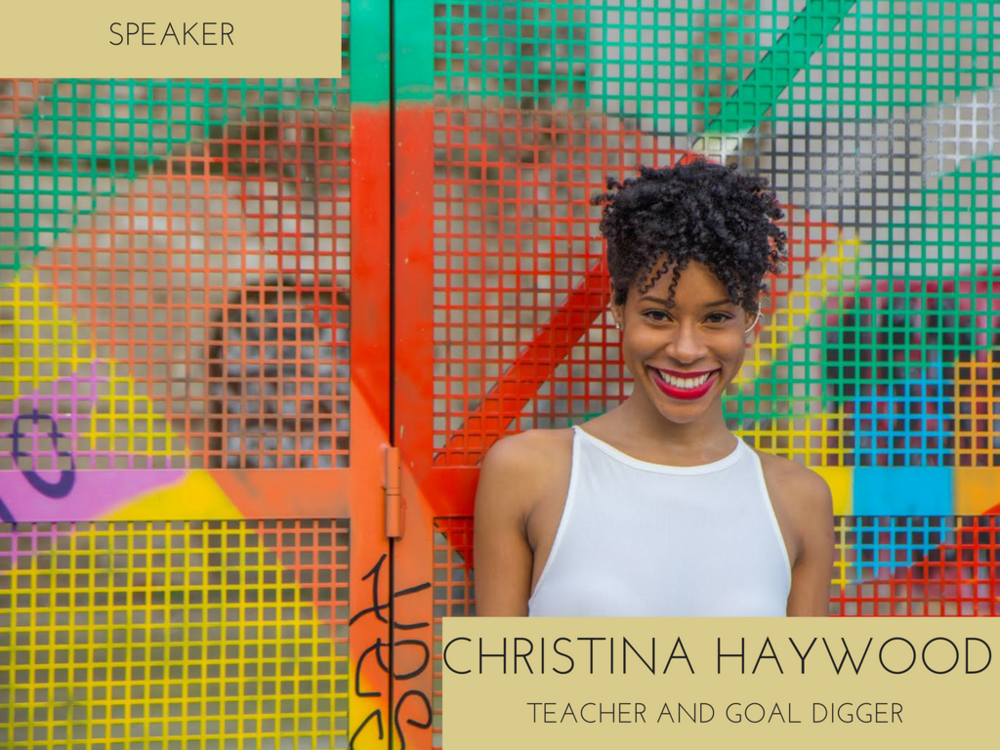 Christina Haywood is an English language teaching assistant in Madrid, Spain. After graduating from The Florida State University in 2006, Christina began her career in the fashion retail industry as a buyer and ecommerce merchant for brands such as Victoria's Secret and Perry Ellis. In 2015, after almost 10 years into her career, Christina decided it was time to live out another one of her dreams - living in Spain.    Christina is an advocate for anyone who seeks to aspire to and achieve their God-given purpose. When she's not teaching, Christina enjoys writing about her travels, inspiration, and personal topics on her blog, wonderwanderonline.com.