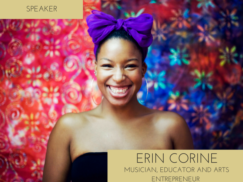 Erin Corine is a flutist, vocalist, bandleader and educator from Chicago, Illinois. She is a 2012-13 graduate of Berklee College of Music's first class of Masters in Contemporary Studio Performance in Valencia, Spain, where her love affair with inter-cultural outreach through music began!      Now four years into her international journey and based in Madrid since 2014, Erin continues to grow as a collaborating music with various national and international artists while developing bilingual music education programs and cultural exchange projects rooted in the performing arts.