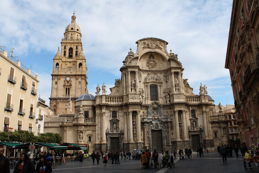 Cathedral in Murcia, Spain