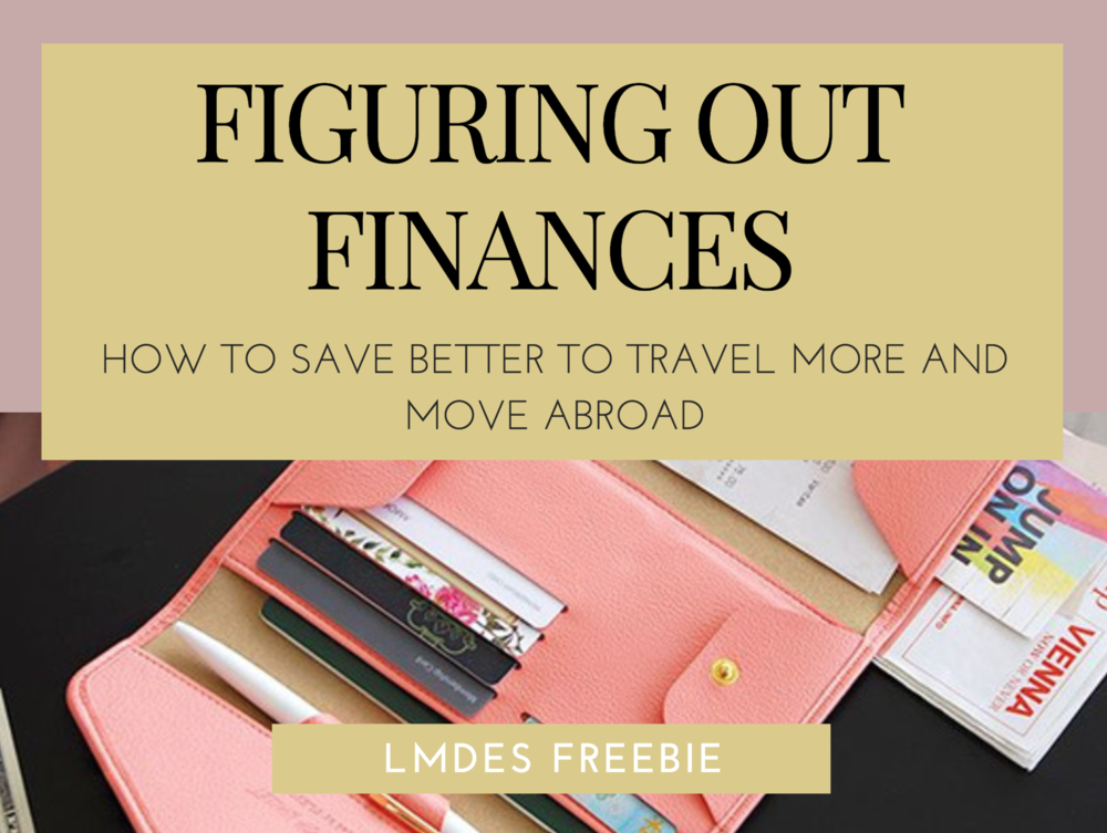 LMDES Freebie — Figuring Out Finances