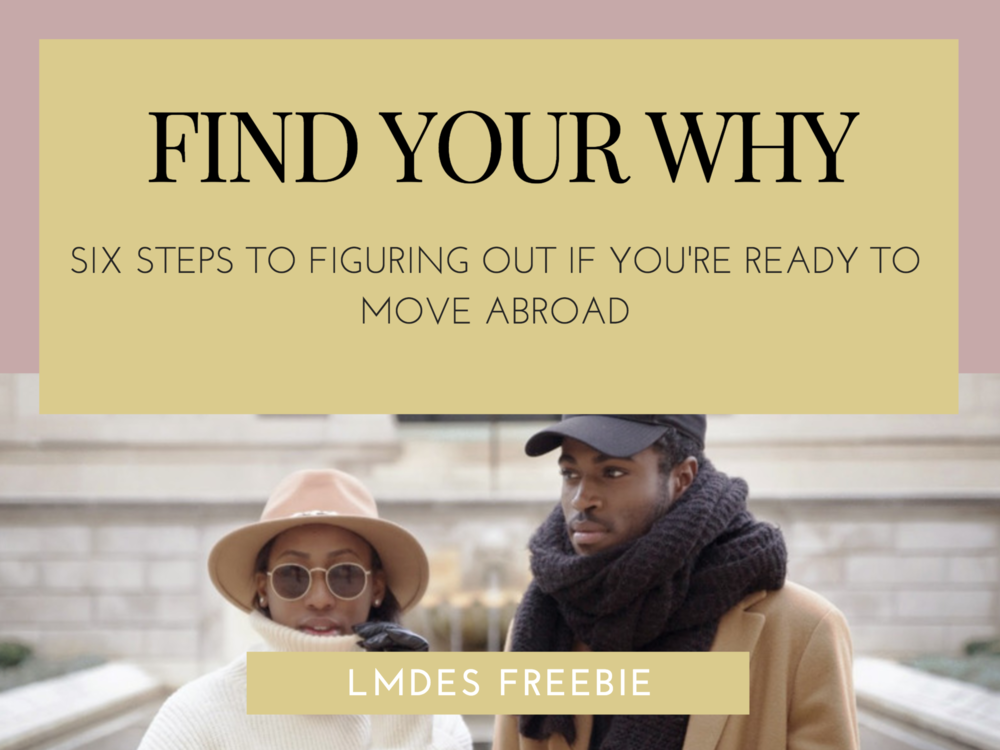 LMDES Freebie — Find Your Why
