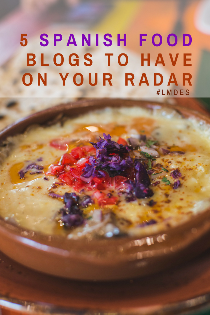5 spanish food blogs to have on your radar las morenas de espaa what are some of your favorite food blogs out there forumfinder Gallery