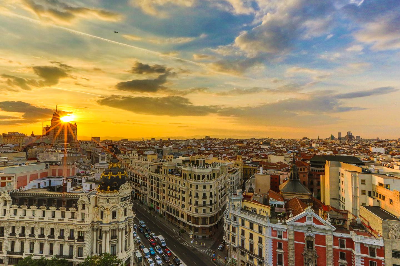 24 Hours in Madrid Spain — Las Morenas De España
