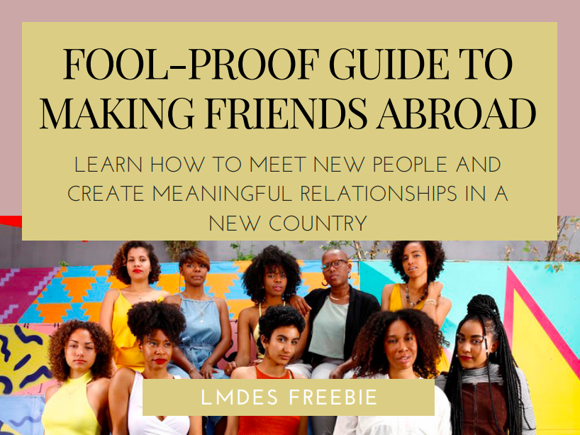 Fool-Prof Guide To Making Friends Abroad