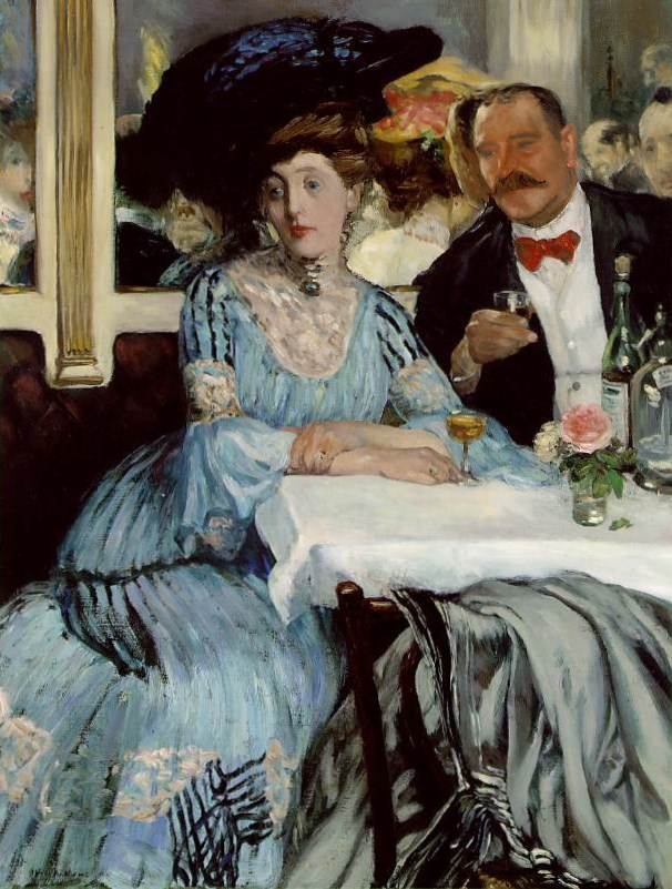At Mouquin's, 1905