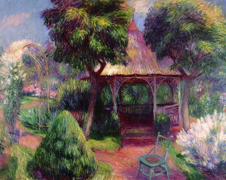 Garden in Hartford (CT) 1918