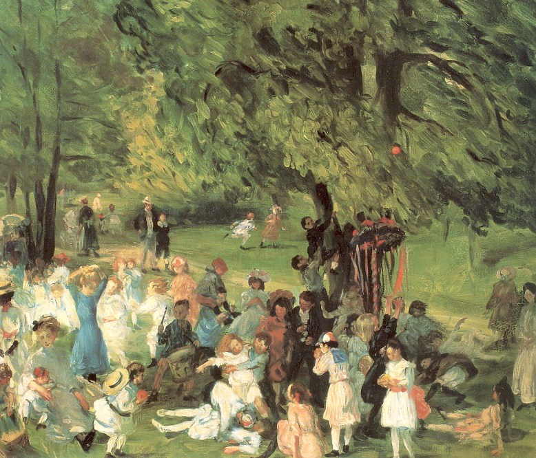 May Day in Central Park