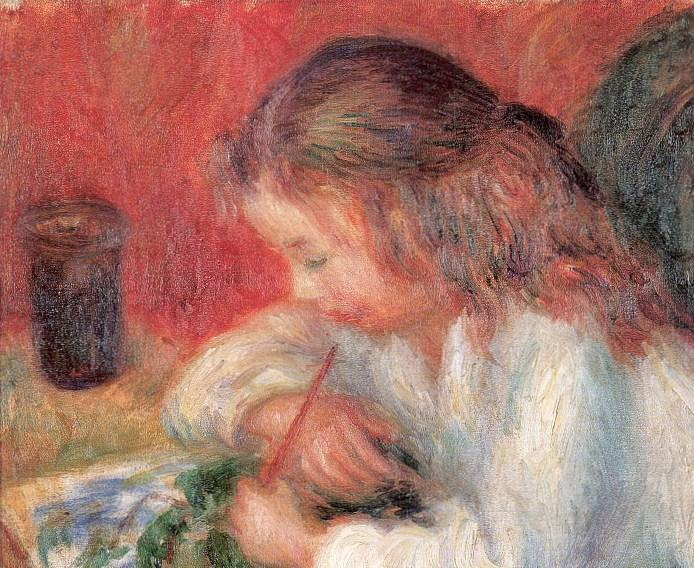 Lenna painting, 1918