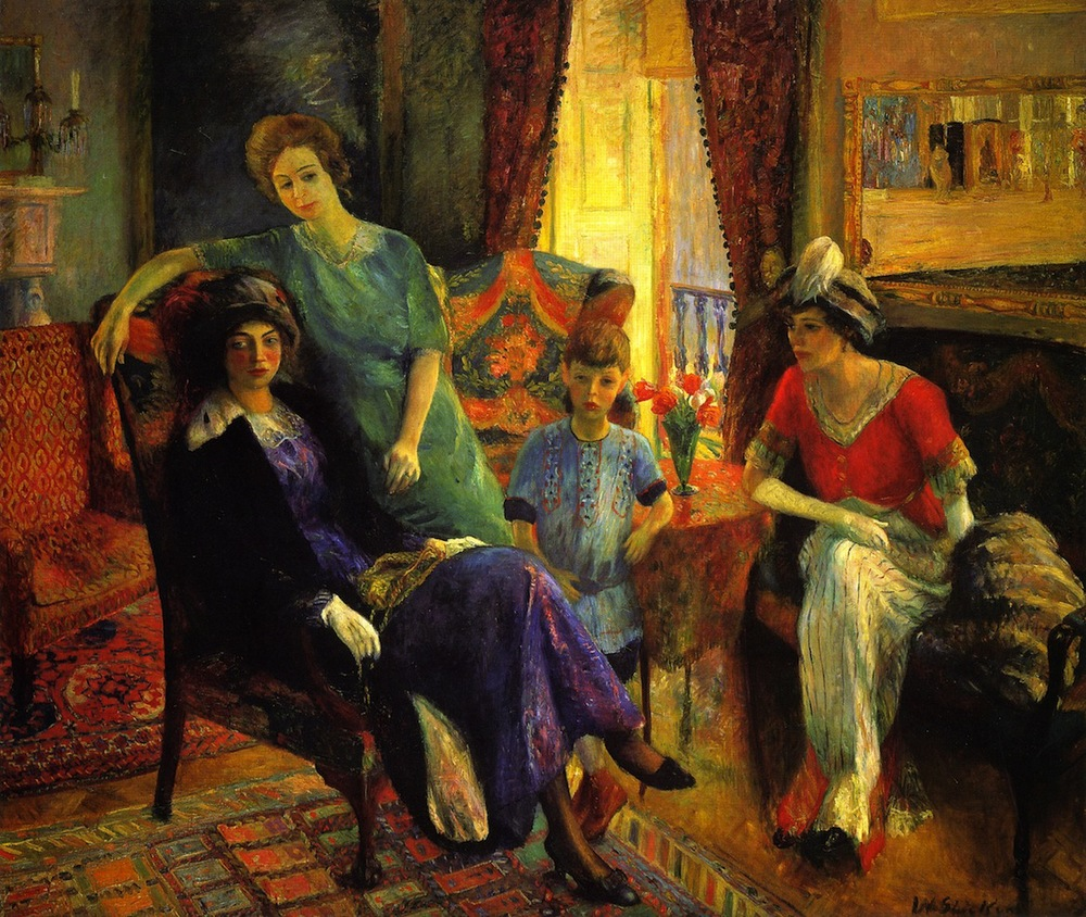 The Family Group, 1911
