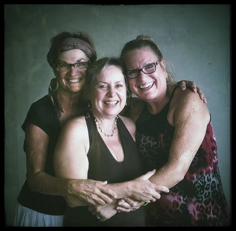 Becky, me & Pam