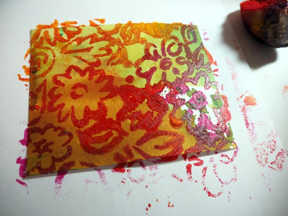 Initial print/stencil
