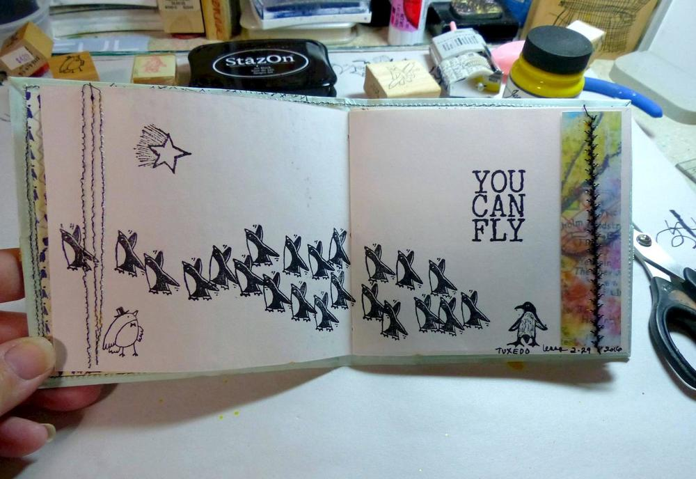 """You Can Fly"" is by Impression Obsession"