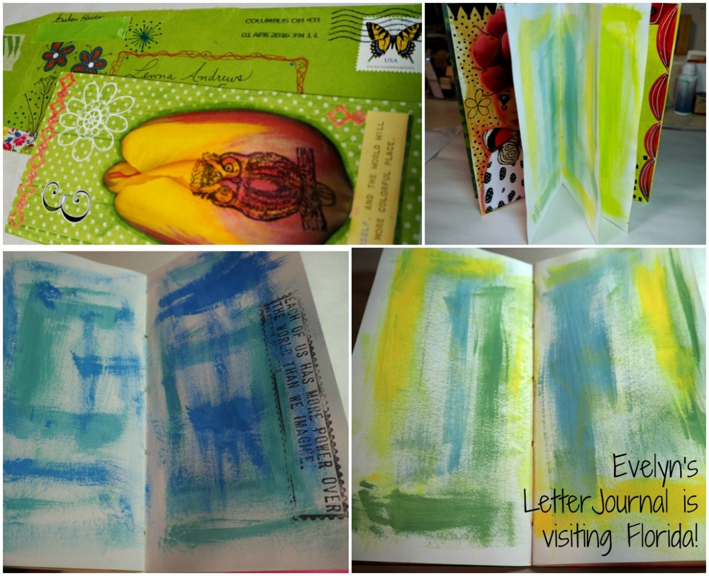 Evelyn's Cover and a few inside pages