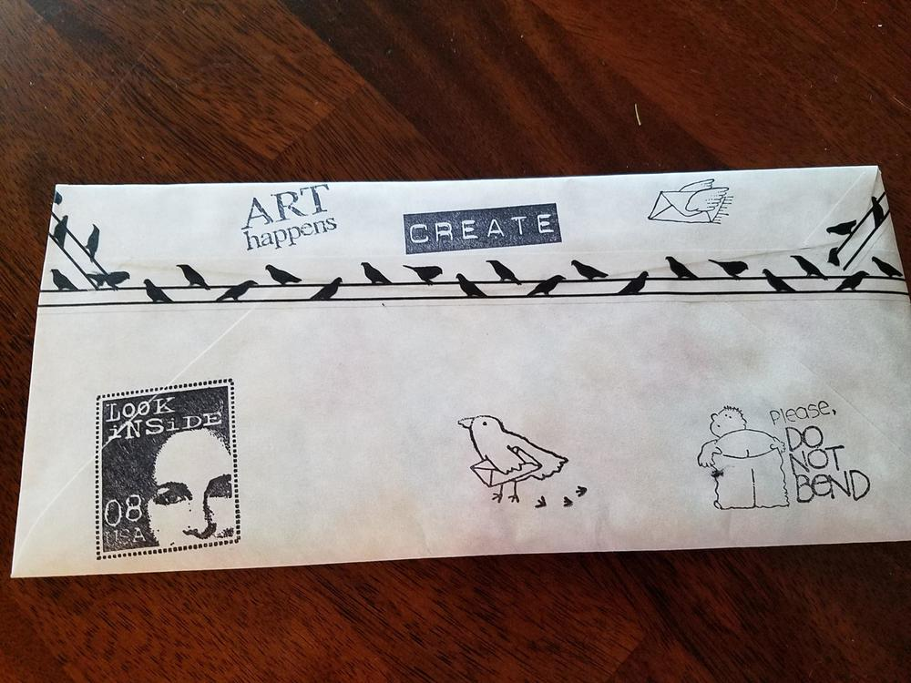 Mail ART for Barbara!