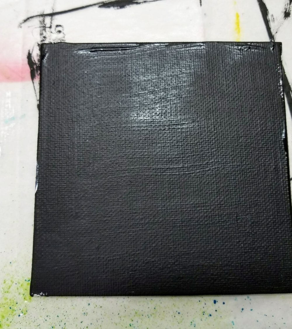 02. black gesso