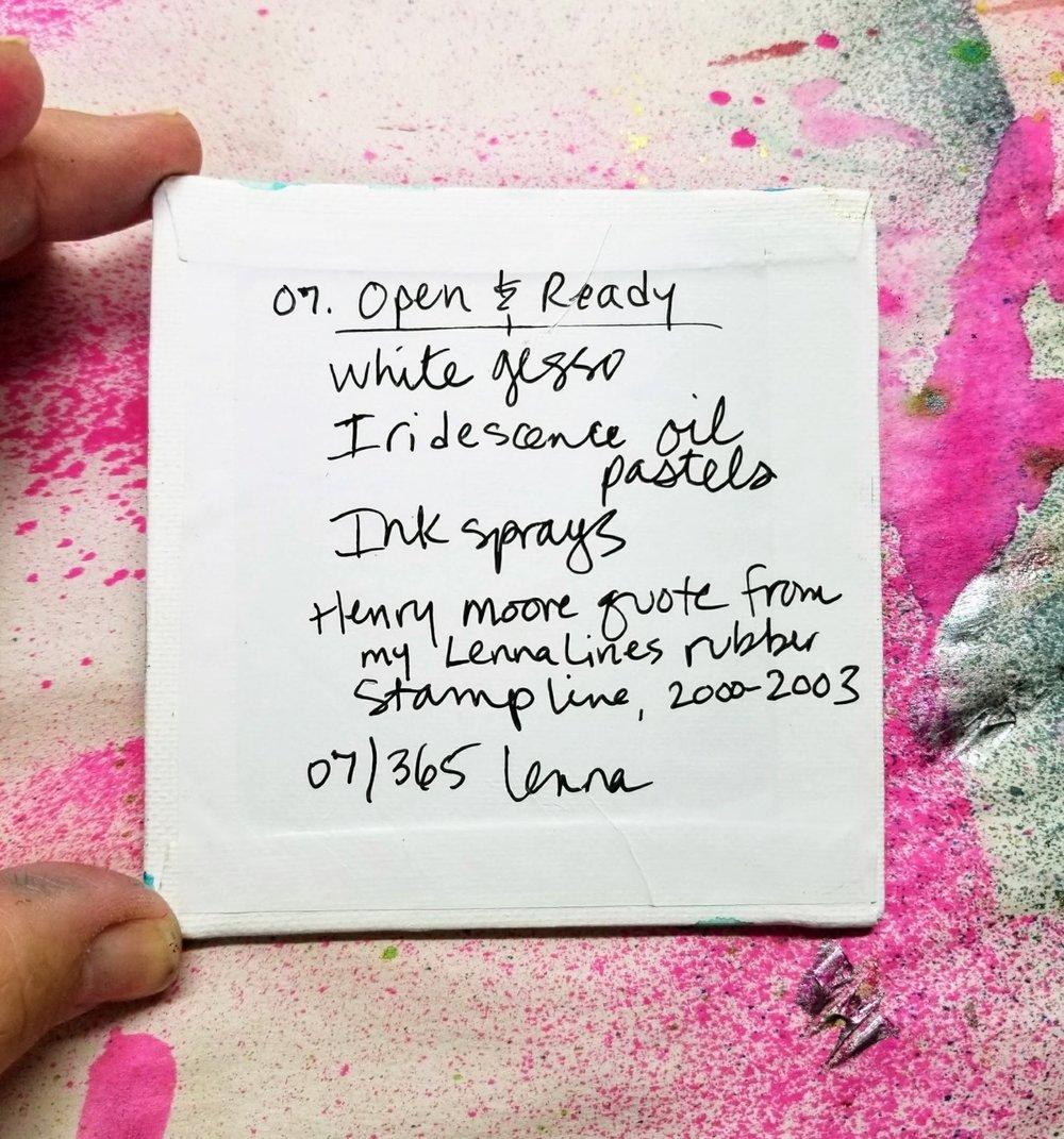 07 - Open & Ready