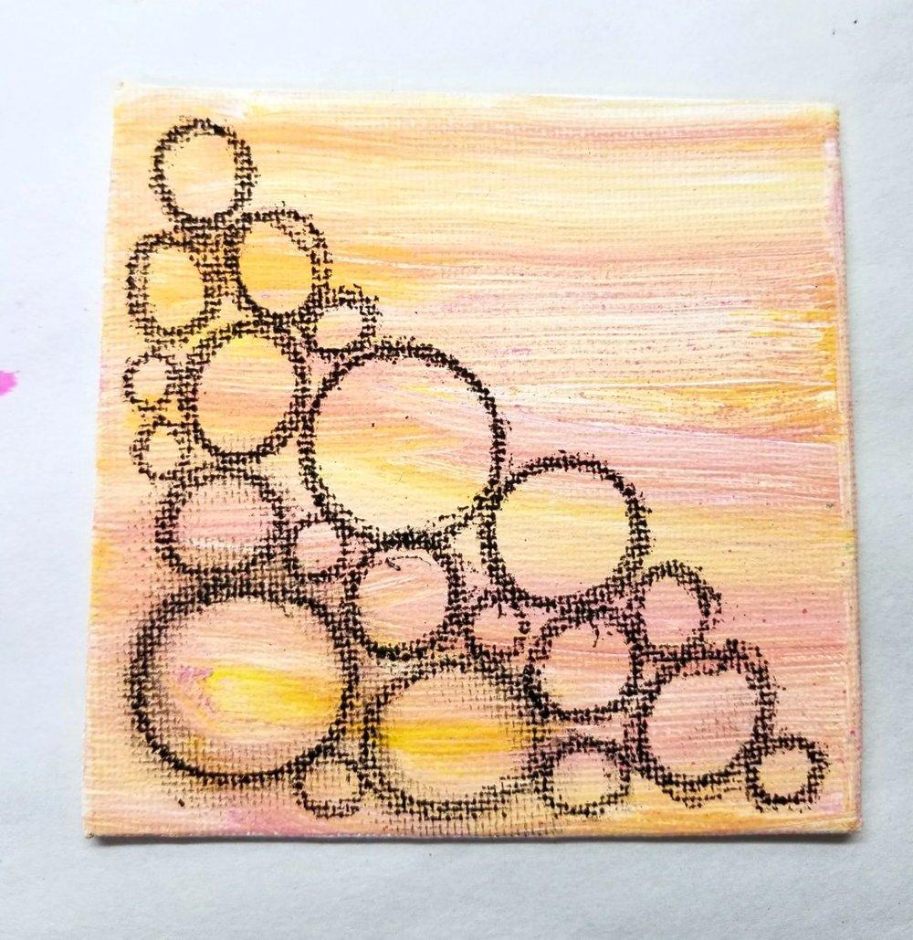 10. acrylic paint