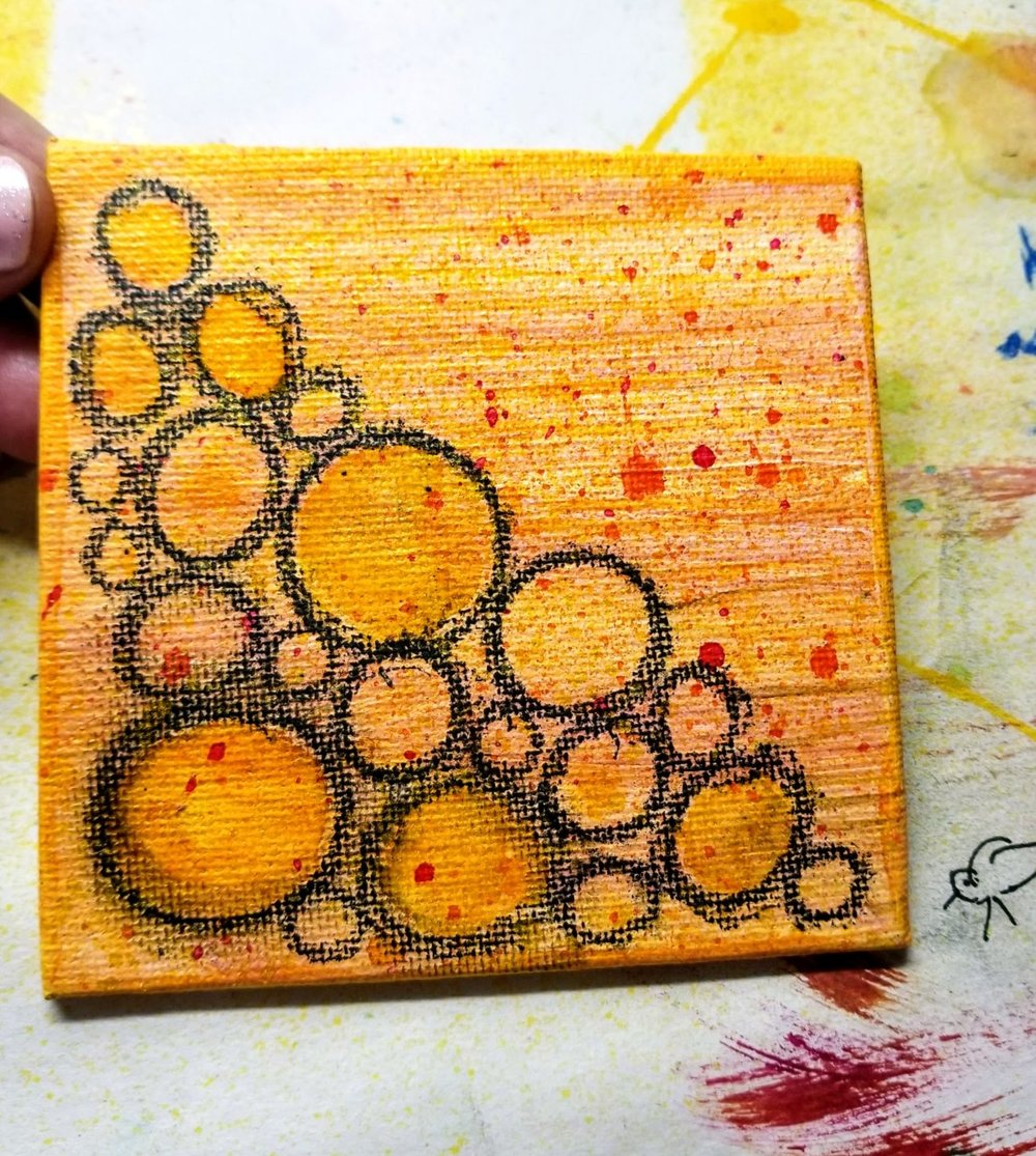 10. spray inks