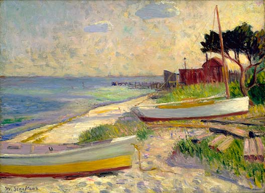 Beach Scene, before 1930, Smithsonian American Art Museum