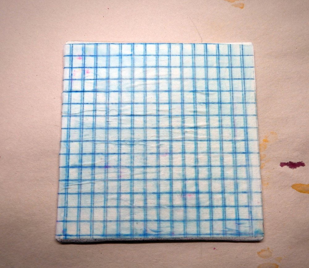 my dad's old graph paper