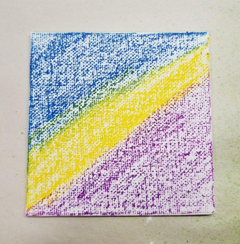 #16 - watercolor Crayons