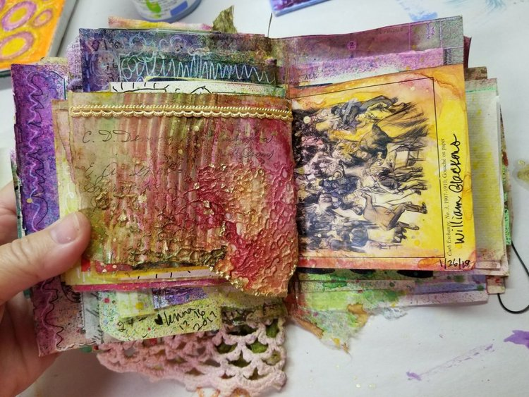 Small And Colorful Pages Lenna Young Andrews Creativity Is My Passion