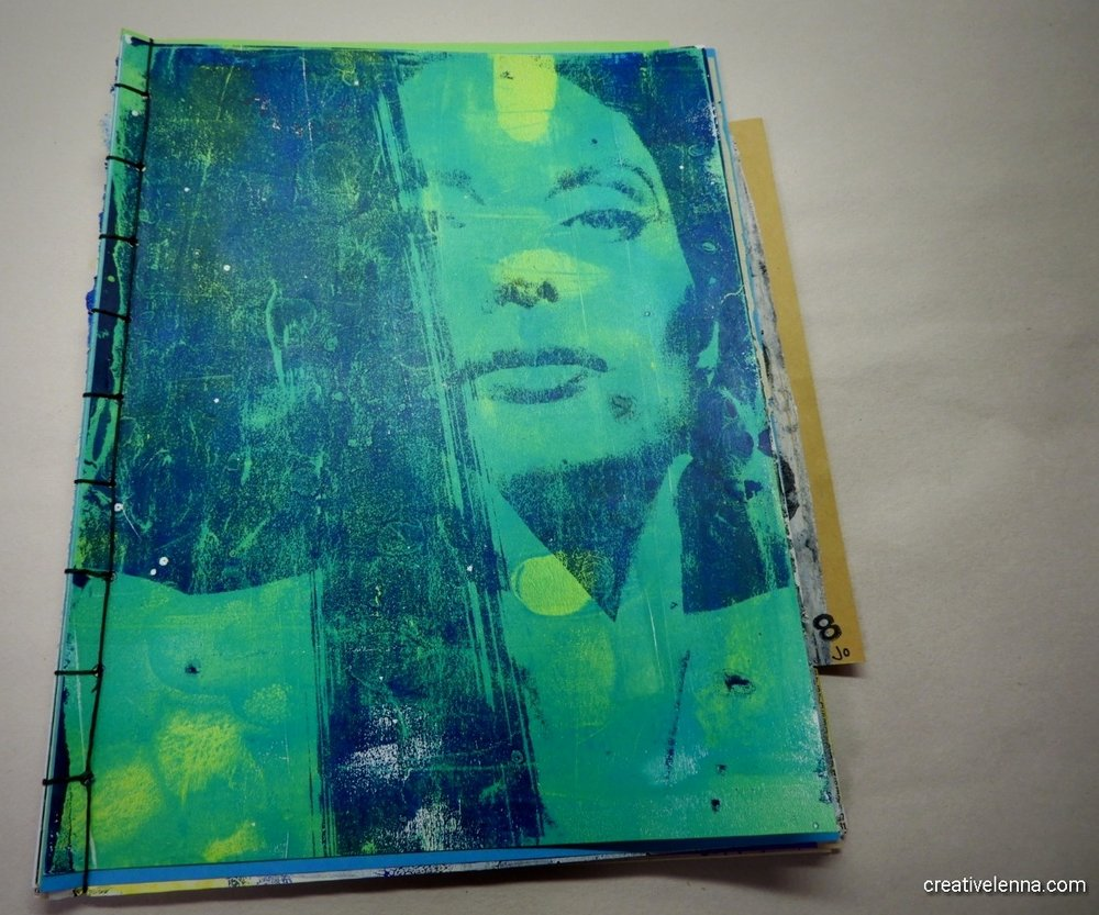My journal & pages follow...