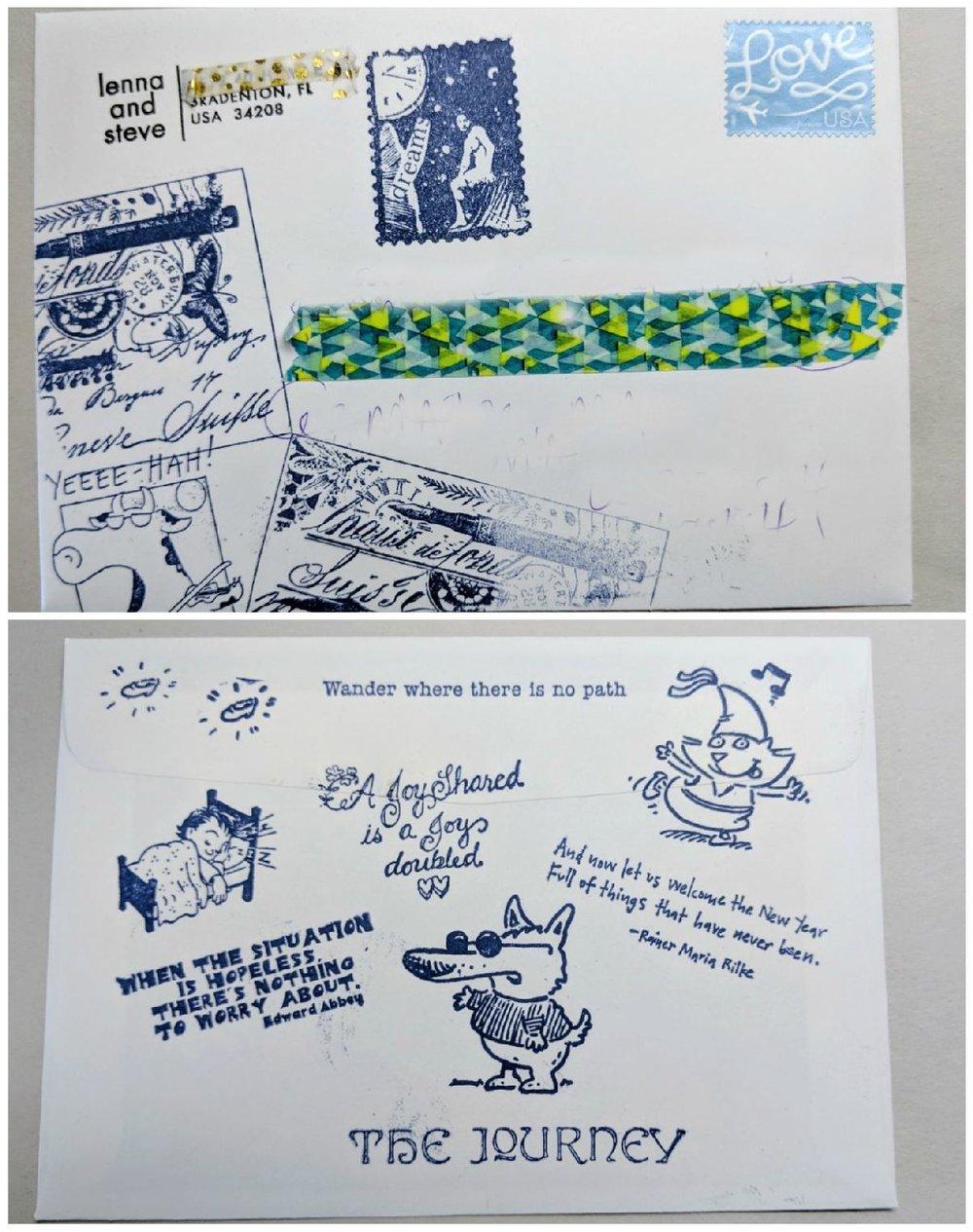 09: mail art