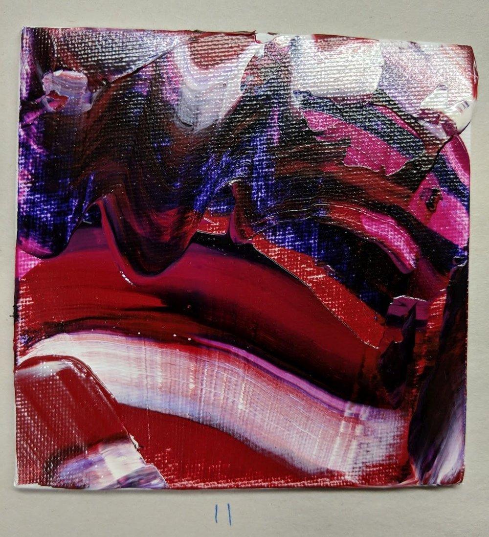 11: 4x4 canvas board