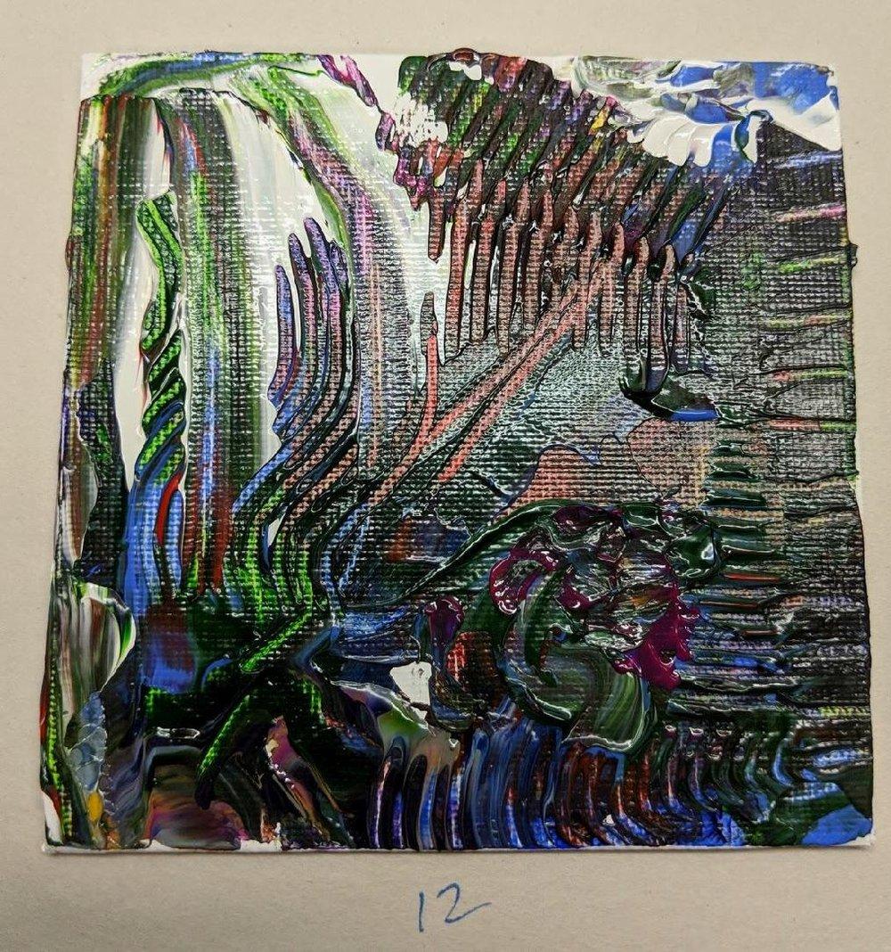 12: 4x4 canvas board