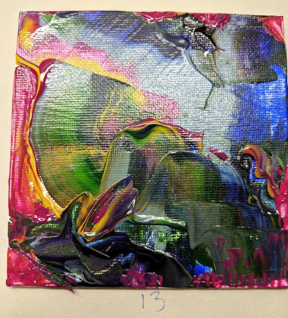 13: 4x4 canvas board