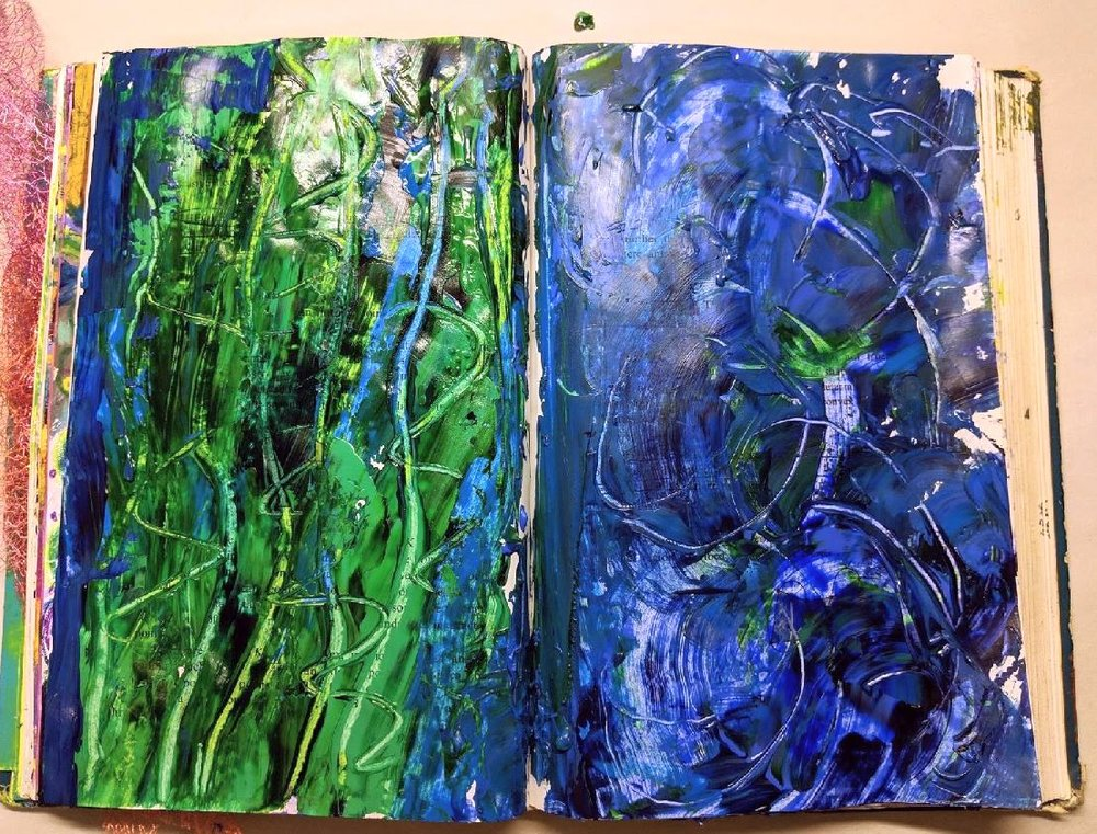17 + 18: Altered Book