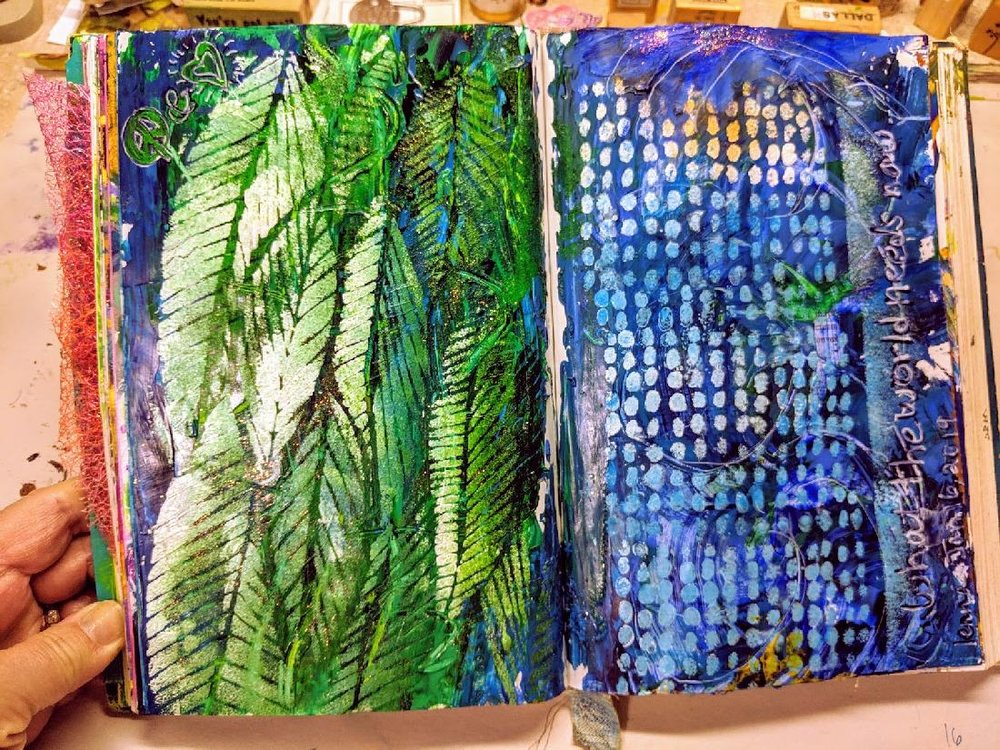 20 + 21: Altered Book