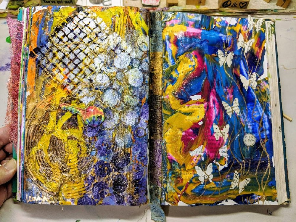 22 + 23: Altered Book