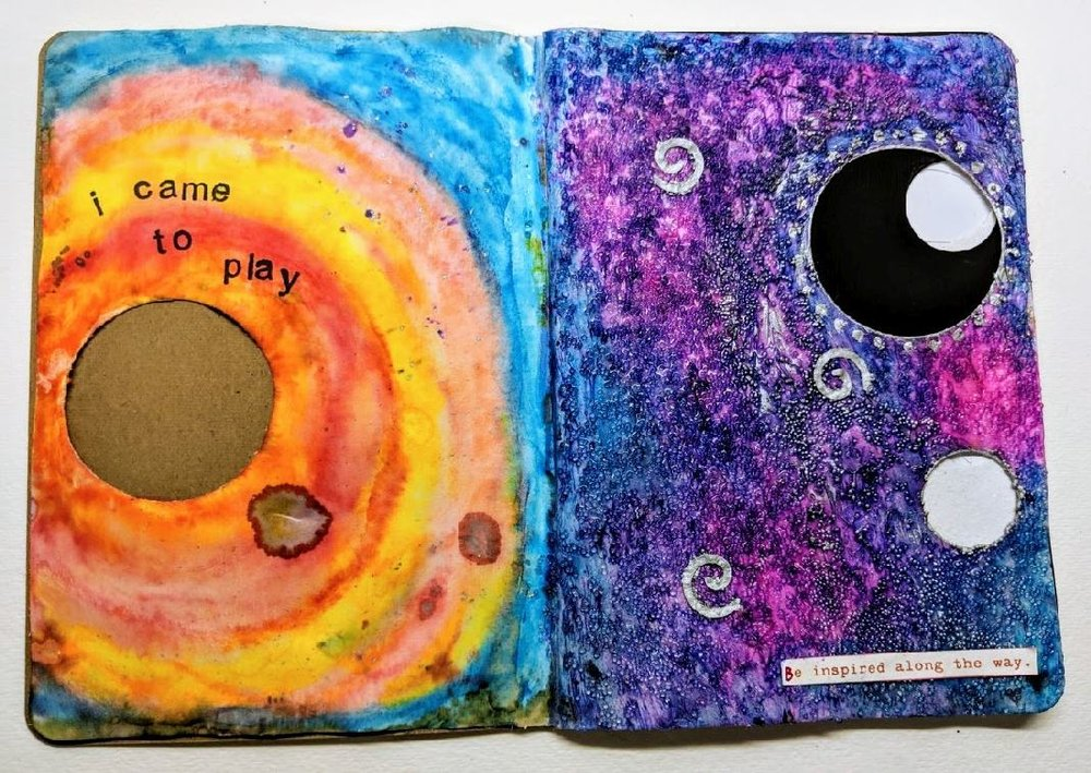 29 & 30: The Sketchbook Project