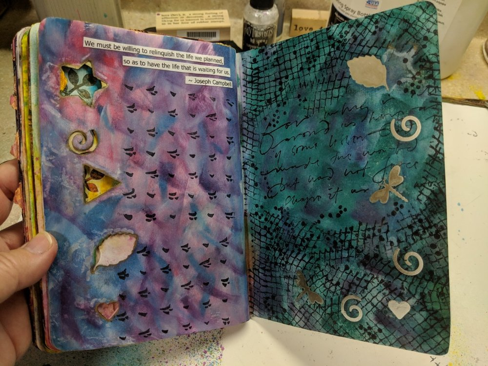 57 + 58: The Sketchbook Project