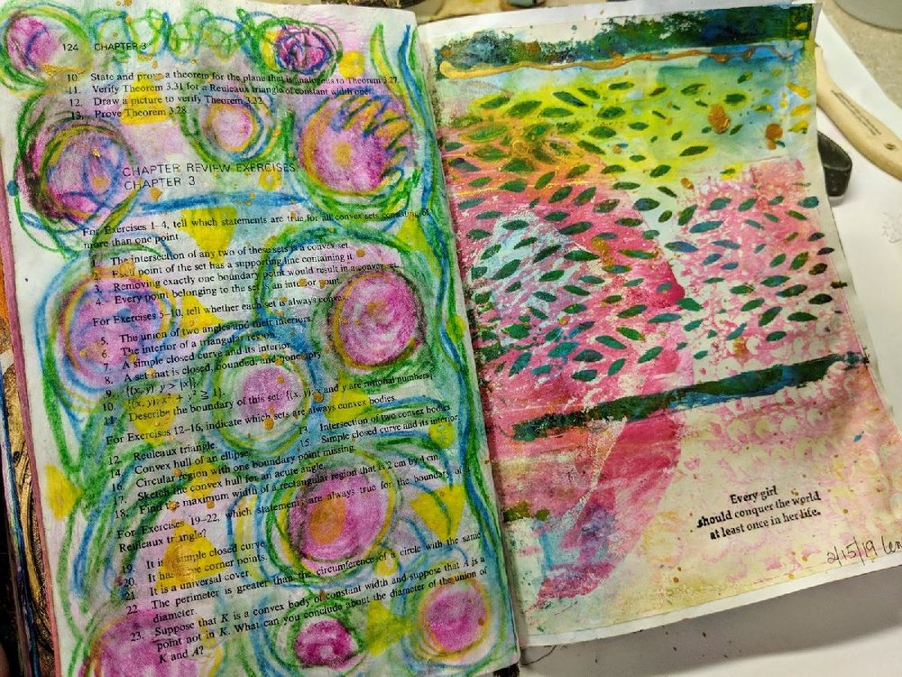 64 + 65: Altered Book