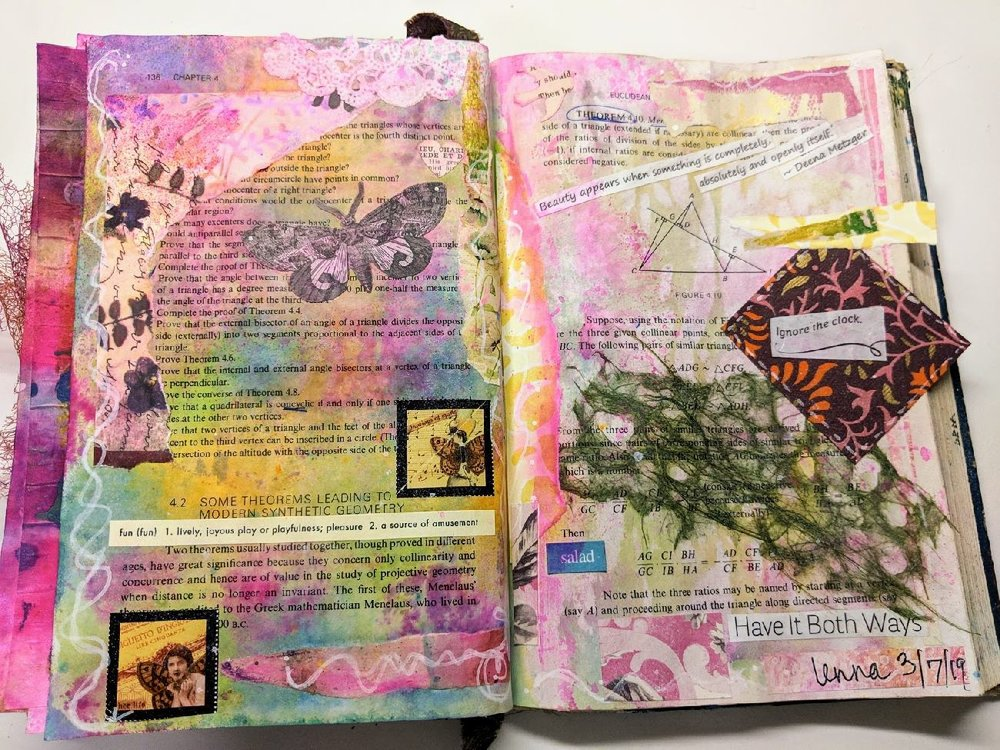 77 + 78: Altered Book