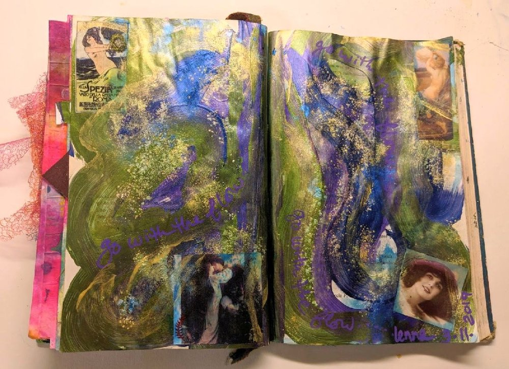80 + 81: Altered Book